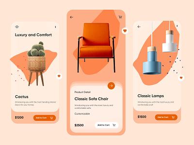 Furniture Detail Page Mobile App-UX/UI Design mobile apps apple mobileapps app mobileui ux uiux ui mobileappdesign ux ui design mobileapp minimal mobile app