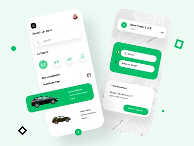 Car Lift Mobile Application-UX/UI Design carlift location carpickup taxi trendingmobile mobileapplication mobileapp mobileuxui mobile ui concept dubai designer minimal mobile app creative adobe xd design 2020 clean