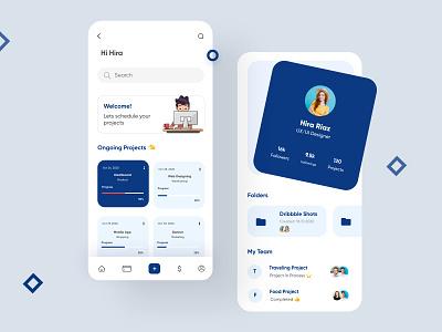 Project Managment Mobile App-UX/UI Design ux ui uiux design uiux interface app mobile app design mobileappdesign mobileapp mobile ui mobileapps uiuxdesign mobile apps ui design mobile app