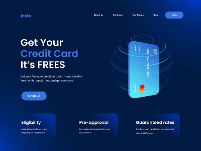 Banking Landing page Design