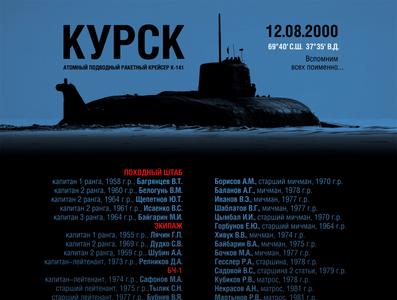 КУРСК. 20 лет экипаж музей стенд к-141 субмарина подлодка курск