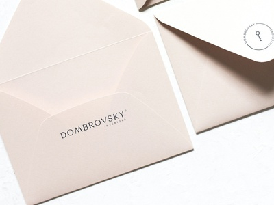 Logo for interior designs studio key round logomaker interior envelope logotype logo design branding