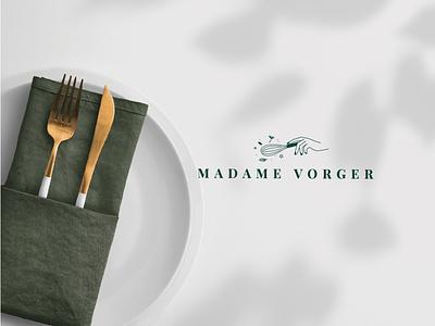 Logo for chef handdrawing line food restaurant cook cooking logomaker identity branding logotype logo