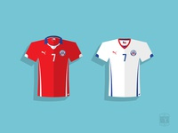Chile 2014 Soccer Jersey