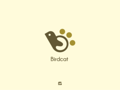 Bird & cat logo