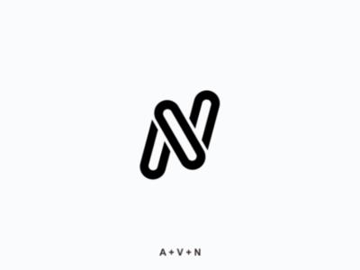 Monogram logo business company drawing logo