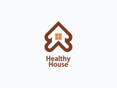 House business brand company drawing logo