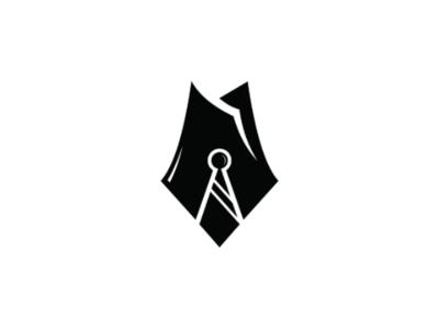 Pen suit tie suit company brand logo