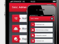 eCommerce iPhone app