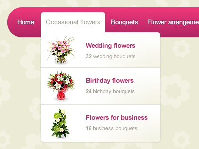 Dropdown menu by adi pintilie dribbble layout r2 c2 mightylinksfo