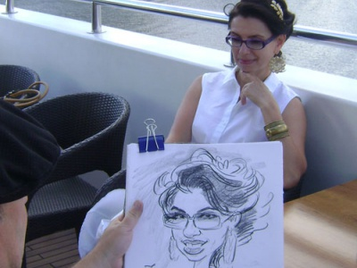 I draw a caricature at an event cartoonist scetch digitalart illustration cartoon illustration caricatura artwork caricature artist cartoon
