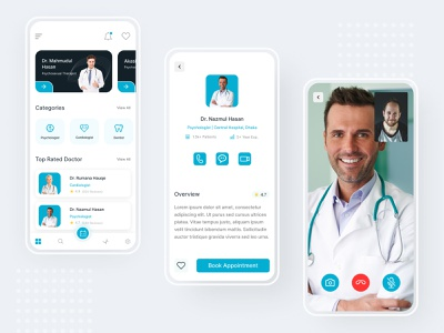 Doctor Appointment App design appointment uidesign doctor app ux booking app uiux ui mobile app app design app