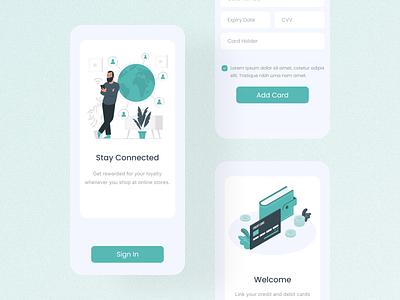 Add card UI branding design uidesign app uiux mobile app app design ui