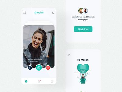 Dating App UI design uidesign app uiux mobile app app design branding ui