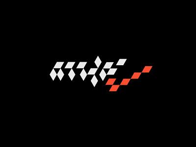 Nike 2 typography minimal illustrator design branding logo