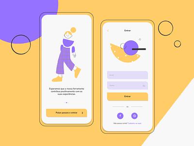 Kali ux interface ui design design mobile illustration ui
