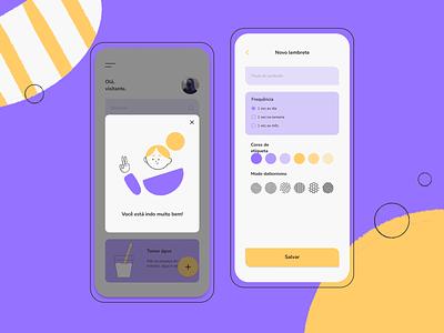 Kali ux ui design interface illustration mobile design ui