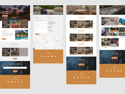Hotel Website UI/UX app website ux branding ui