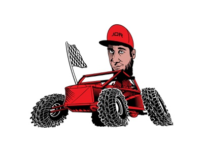 Racing Team Illustration humor procreate illustration design graphic flat color caricature cartoon t-shirt line drawing line art vector motorsports racing
