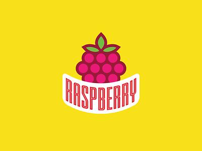 Raspberry sports logo fruit logo branding fruity logo fruit illustration icon design typography vector icons illustration icon