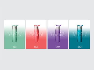 Choose Your Expression typography color graphic design design poster advertising