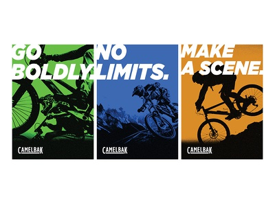 Go boldly. typography advertising poster design graphic design