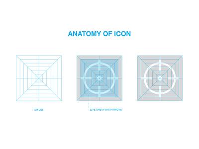 Anatomy of an icon icon design vector design vector graphic design design iconography illustration icon