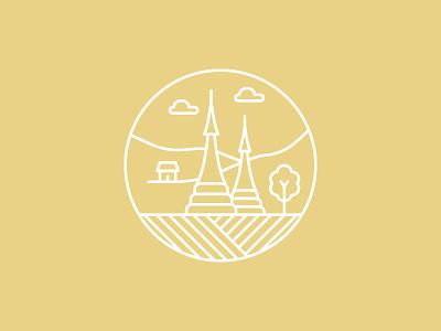 Myanmar Icon vector logo illustration southeast asia yellow shan shan myanmar icons icon