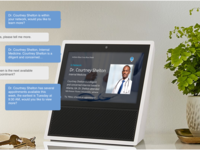 AI integration to daily Healthcare via Echo Show