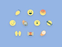 Reaction Icons