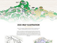 Fresno Chaffee Zoo Map by Hundred10 Dribbble