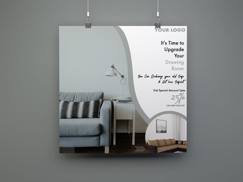 Furniture Social media Banner poster portrait posters poster design poster art poster design logo branding social