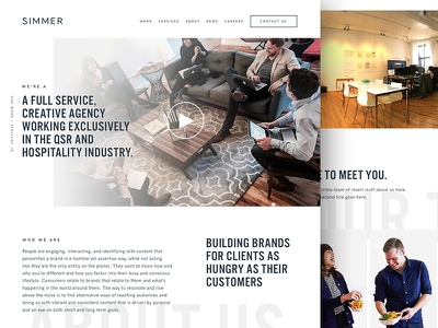 Simmer Site WIP qsr studio restaurant nyc wip about portfolio agency simmer