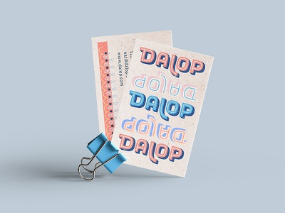 Dalop Exploration nyc simmer logotype eat business cards outline food restaurant fast casual indian