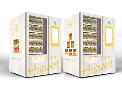 corner harvest vending machine