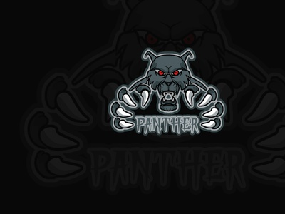 PANTHER vector logo illustration gaming mascot design design mascot logo cartoon character
