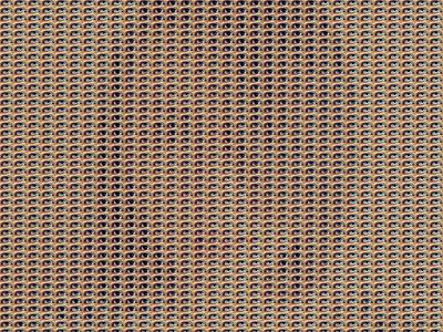 Two Metters Away - Ref. Portrait 01 rytm pattern pixelart pixel optical illusion optical art pointillism