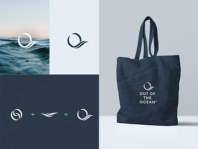 Out of the Ocean Logo Design icon illustration branding logo