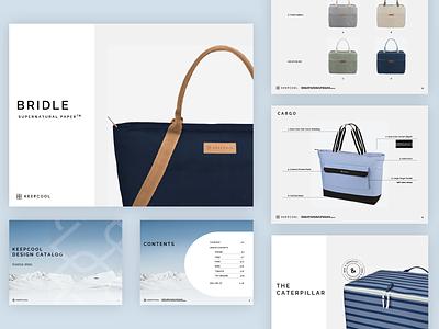 Product Catalog catalog pitch deck layout design