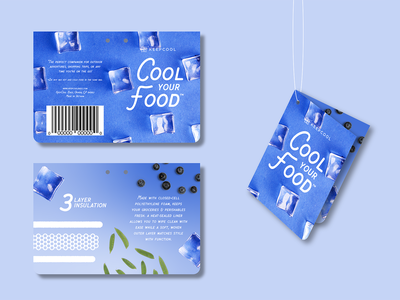 Cool Your Food Tag copywriting art direction packaging graphic design branding