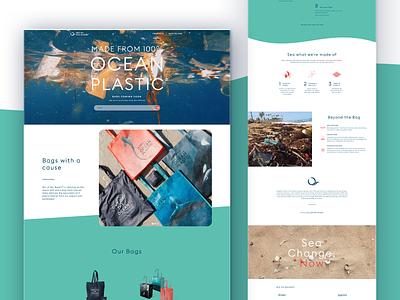 Out of the Ocean Website web development ux webflow web design art direction illustration graphic design logo ui