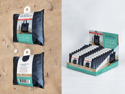 Out of the Ocean Packaging branding packaging art direction print graphic design