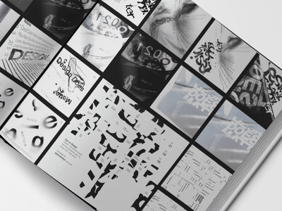 Experimental Typography editorial layout graphic design typography