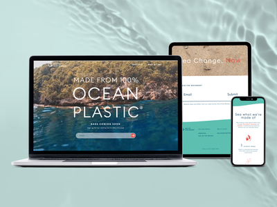 Out of the Ocean iconography web design webflow web development ux ui