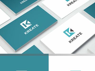 KREATE flat ux website minimal logo icon design branding art app