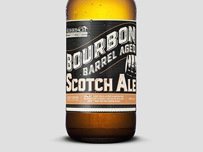Bourbon Scotch Ale Label