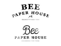 Bee Paper House Rebrand