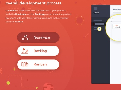 Laika LP (sneak peek 2 of 3) goodpatch japan tokyo lp landing page product design product development pm tool product