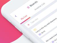 ToDoList + Notes app