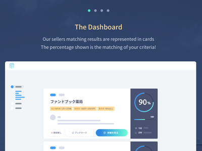 On Boarding on the M&A platform on boarding product design saas ma